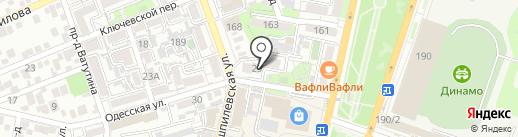 FLY OWL на карте Краснодара