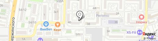 Домовенок на карте Краснодара