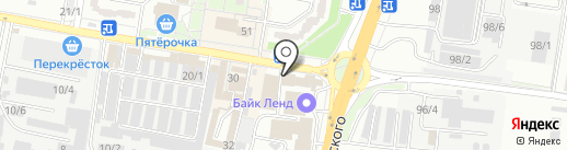 Стратегия на карте Краснодара