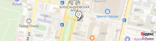 Восточный уголок на карте Краснодара