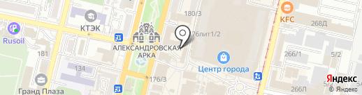 Бархат на карте Краснодара