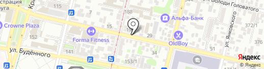 Краснодарбыттехника на карте Краснодара