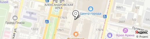 Винтаж на карте Краснодара