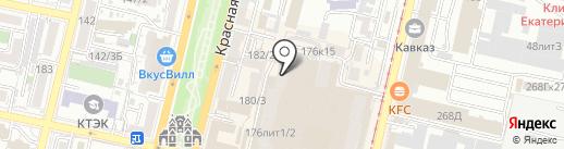 ЦентрFit на карте Краснодара