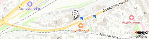 Неруд-Строй на карте Краснодара