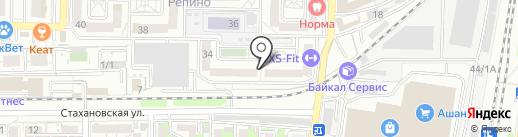 Магазин цветов на карте Краснодара