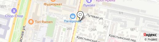 VR CAFE ATMOSFERA на карте Краснодара