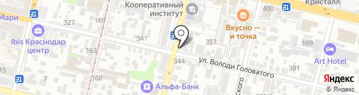 Агентство Регионального Развития на карте Краснодара