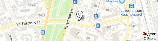 МС-сервис на карте Краснодара