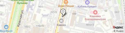 Электроника на карте Краснодара