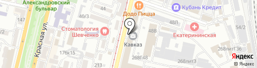 Эльвира на карте Краснодара