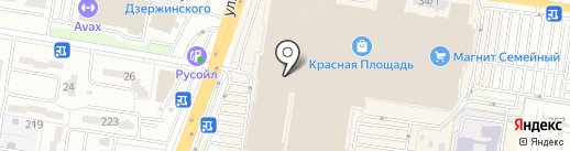 GERRY WEBER на карте Краснодара