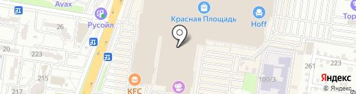 Uno de 50 на карте Краснодара