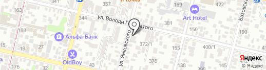 eNTe на карте Краснодара