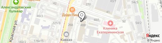Деловой Интернет на карте Краснодара