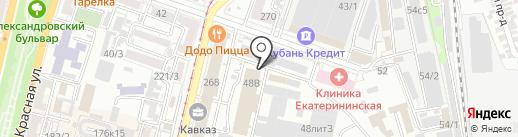 Домашняя кухня на карте Краснодара