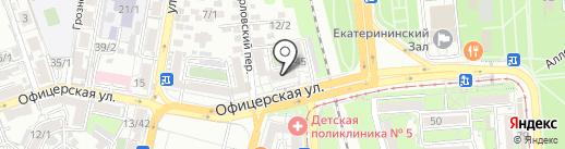 Ажур на карте Краснодара