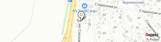 Автомагазин на карте Краснодара