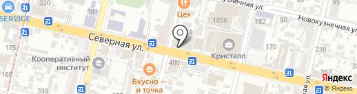 Ворк5 на карте Краснодара