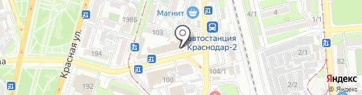 Матреша на карте Краснодара