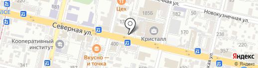 Краевой стоматологический центр имплантологии и пародонтологии на карте Краснодара