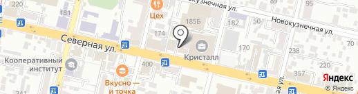 ДОДОР на карте Краснодара