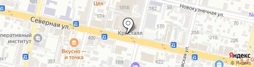 Полимер ГРУПП, НП на карте Краснодара