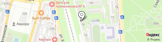 Glav-kino на карте Краснодара