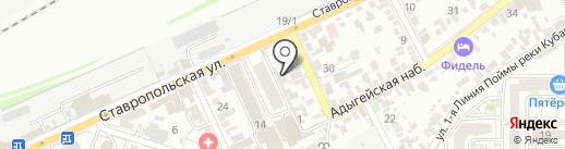 Аналитическая Лаборатория Кубани на карте Краснодара