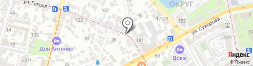ЮФО-Авто на карте Краснодара
