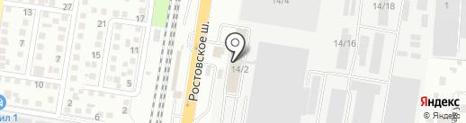БАРС на карте Краснодара