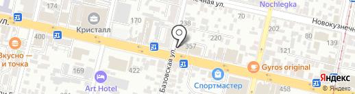 ЗМК Техлайн на карте Краснодара