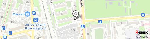 Пивница на карте Краснодара