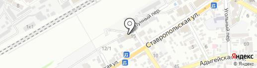 Деловая газета. Юг на карте Краснодара