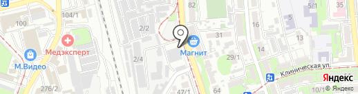 Автотехцентр на карте Краснодара