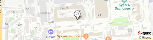 Brusnika Berry на карте Краснодара