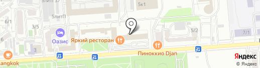 Центргазсервис на карте Краснодара
