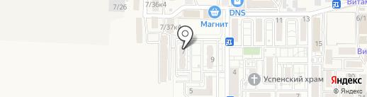 МурАмур на карте Краснодара
