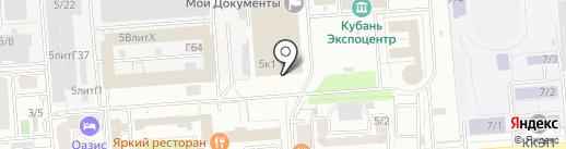 АВУАР на карте Краснодара