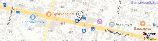 Бухгалтер и Я на карте Краснодара