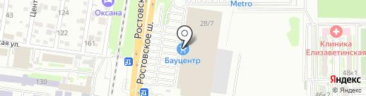 Мебель Май на карте Краснодара