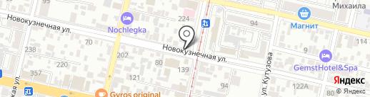 Giro`s на карте Краснодара
