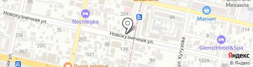 Лейла на карте Краснодара