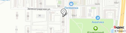 Умка на карте Краснодара