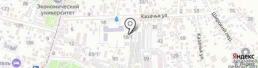 ШИНОФ.РУ на карте Краснодара