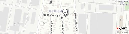 Краснодар-Техсервис плюс на карте Краснодара