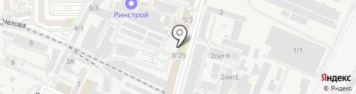 Чемпион на карте Краснодара
