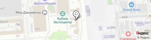 КейтерингЭКСПО на карте Краснодара