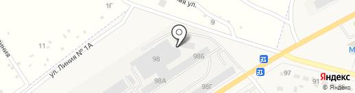 КЕДР на карте Семилуков