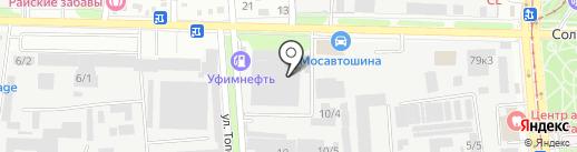 Автосправка на карте Краснодара